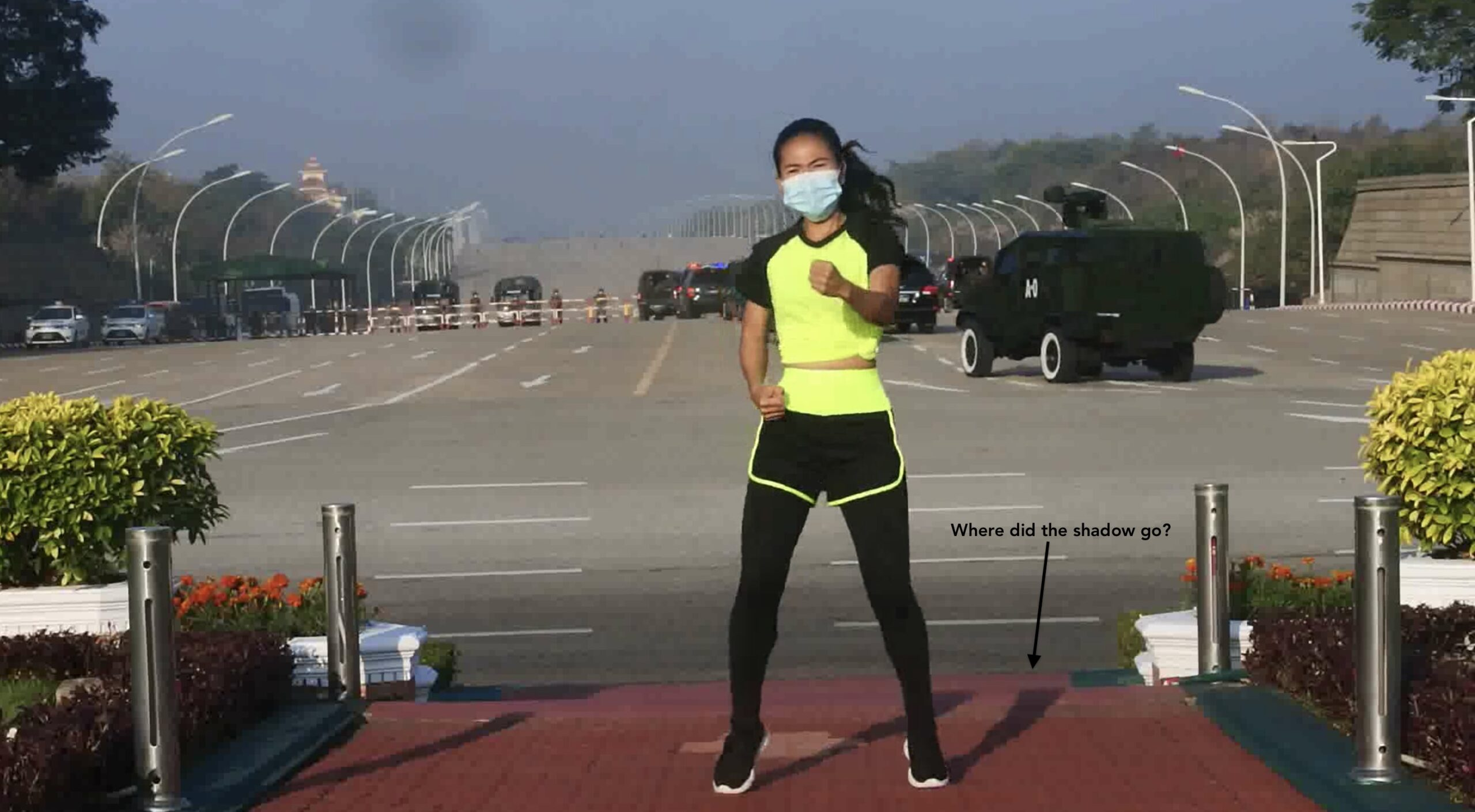 Perspective is Everything: Authenticating the Aerobics Video during the Myanmar Coup